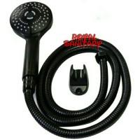 Hand shower Mandi minimalis gede Fioren 088B-HandShower Mandi black