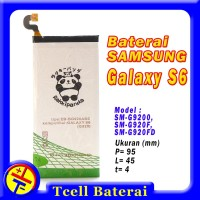 Baterai Samsung Galaxy S6 Flat G920f Rakkipanda Batre G920 EB-BG920ABE