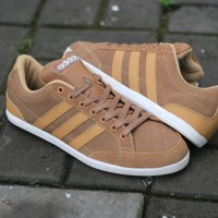ADIDAS NEO CAFLAIRE TAN BROWN ORIGINAL