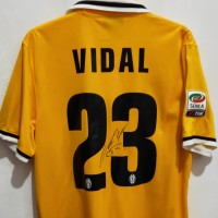 JERSEY VIDAL ORIGINAL JUVENTUS AWAY 2013-2014