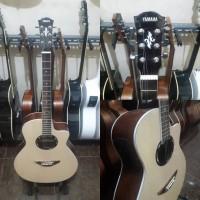 Gitar akustik elektrik yamaha apx