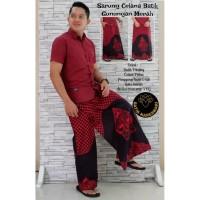 Batik Solo Sarung Celana Batik Gunungan Merah Nareswari Batiksoloam
