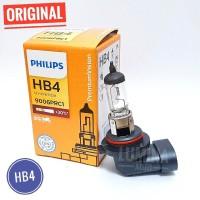 Philips Premium Vision HB4 / 9006 55W +30% Lebih Terang - Lampu Mobil