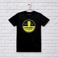 Jelove - Kaos T-Shirt Distro / Tshirt Pria Wanita/Guitar World-Htm