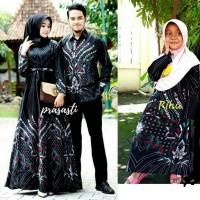 batik couple keluarga couple set anak perempuan dan ayah ibu