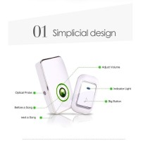 BEL RUMAH WIRELESS 36 SUARA UP TO 50 METER BEL PINTU WIRELES BEL