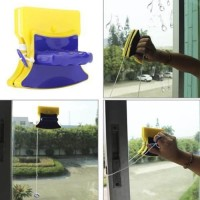 Pembersih Kaca Magnetic / Double Side Glass Window Cleaner