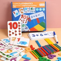Set Mainan Berhitung Anak / Counting Stick And Magnetic Number