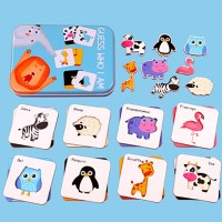Puzzle Tebak Benda & Hewan / Puzzle Mainan Edukasi Anak