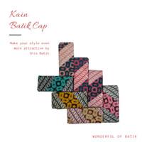 Kain bahan katun halus batik cap garutan Kombinasi 013 - 019