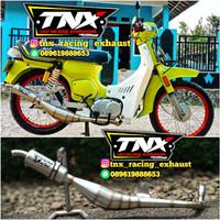 Knalpot Bravo RC100 Stainless TNX Racing Exhaust