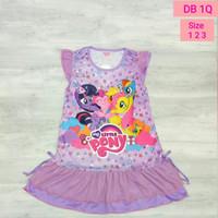 Daster Anak Karakter Little Pony / Dress Anak Little Pony DB1Q