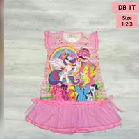 Daster Anak Karakter Little Pony / Dress Anak Little Pony DB1T