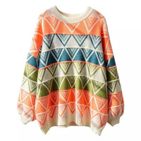 Sweater Rajut Wanita / Sweater Ice Cream / Knitwear Wanita