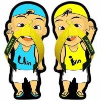Sandal Lucu Sancu Jepit Anak Cowok Karakter Kartun UPIN IPIN Murah
