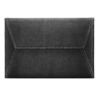 Tas Laptop 12 inch Macbook Softase Sleeve INCASE Black Denim Macbook
