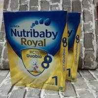 Nutribaby Royal 1 Formula Bayi 0-6bulan, Berat bersih 800g