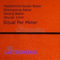 Heatshrink 1mm Heat Shrink Tube 1 mm Selongsong Isolasi Bakar Susut