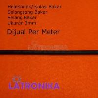 Heatshrink 3mm Heat Shrink Tube 3 mm Selongsong Isolasi Bakar Susut