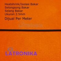 Heatshrink 2.5mm Heat Shrink Tube 2.5 mm Selongsong Isolasi Bakar