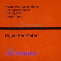 Heatshrink 2mm Heat Shrink Tube 2 mm Selongsong Isolasi Bakar Susut