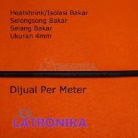 Heatshrink 4mm Heat Shrink Tube 4 mm Selongsong Isolasi Bakar Susut