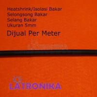 Heatshrink 5mm Heat Shrink Tube 5 mm Selongsong Isolasi Bakar Susut