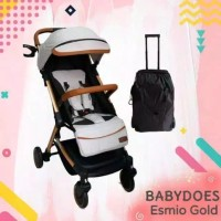 Stroller baby does esmio gold model koper