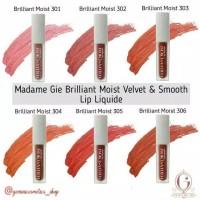 Madame Gie Brilliant Moist Velvet & Smooth Lip Liquide 3gr