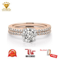 cincin berlian asli (CBE015)