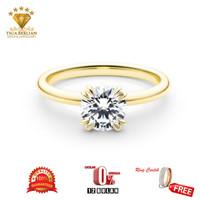 cincin berlian asli (CBE06)