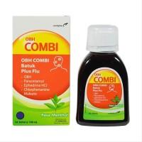 Obat Batuk Combiphar OBH Combi Plus Flu 100 mL