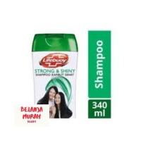Shampoo Lifebuoy Strong&Shiny 340ml (Hijau) Shampo Rambut Sehat Murah