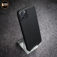 Carbon TPU Case - Seri iPhone 11 / X / 8 / 7