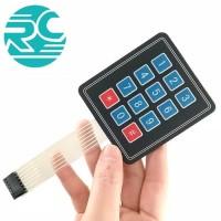 Modul Membrane Switch Keypad 12 Key 3 x 4 Matrix Array 3x4