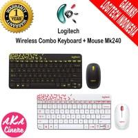 Logitech Wireless Combo Keyboard Plus Mouse Mk240