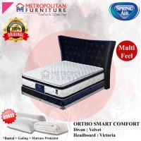 Springbed SPRING AIR Ortho Smart Comfort 180 x 200 FULL SET Kasur