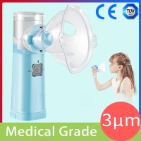Mini Handheld Portable Alat Inhalasi Nebulizer Diam Ultrasonic Anak