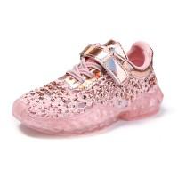 Cozulma Anakanak Bernapas Renda Sepatu Fashion Sepatu untuk Anak
