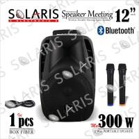 SPEAKER Meeting PORTABLE Wireless 12 Inch CRIMSON PA 123-2
