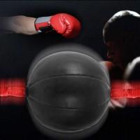 【 COD 】 Tas Punching Ball Double End Bahan Kulit PU untuk MMA /