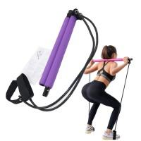 Portable Pilates Latihan Stick Yoga Pilates Latihan Tongkat Bar