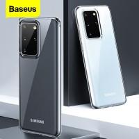 BASEUS Clear Case Telepon untuk Samsung S20 Case Coque Tipis Lembut