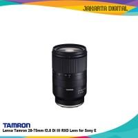 Lensa Tamron 28-75mm f2.8 Di III RXD Lens for Sony E