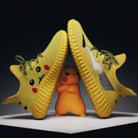 Aodlee FLYKNIT Kanye West Pria Sepatu Kasual Kikuk Pria untuk Pria