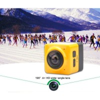 Panorama Camera Cube 360 Action Camera - Bergaransi