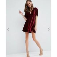 Velvet Bludru Kimono Dress 1177 3M