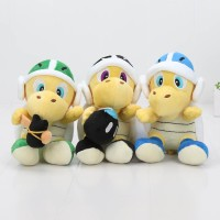18cm Super Mario Bros Dolls Koopa Troopa Skull Plush Toy