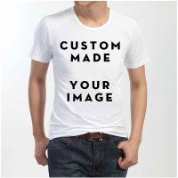 Personalized Customized Printed Promotion Team Casual Short Sleeve