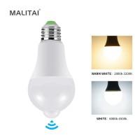 E27 PIR MOTION SENSOR Light LED Lampu Lampu Hemat Energi 15W 20W AC